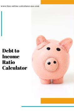 Enter your monthly income and debt payments and I will calculate your debt to income ratio (DTI), and display your ratio meter. #income #debt #calculator #ration #loan #finance #money Build Credit, Credit Score, Budgeting Finances, Budgeting Tips, Financial Success, Financial Planning, Debt To Income Ratio, Online Calculator, Debt Snowball
