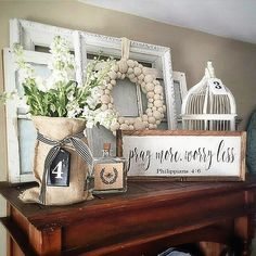 Good evening friends, I couldn't let this  Friday pass without playing #followfriday .My pick this week is my sweet friend Angie @angieswreathsandmore .If you don't know her please go and check her feed...she is the queen of vignette , she is definitely #onetofollow