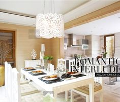 Carving Drum Acrylic Pendant Lights for Kitchen|JollyHome.com