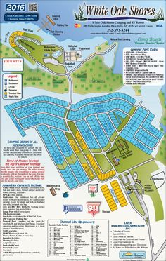Campground Map Anastasia State Park Florida In 2019