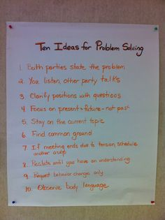 10 ideas for problem solving during an IEP