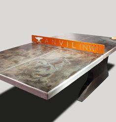 Concrete Ping Pong Tables, Concrete Table Tennis Tables,