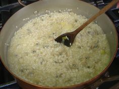 Five steps for the perfect risotto