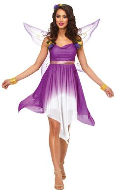 Maybe I'll go as a birthday fairy... |adult fairy costume | Fairy Costumes