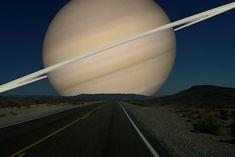 地球から見た土星
