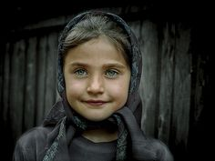 One of my favorite portraits. I shot this in a small town in Romania.