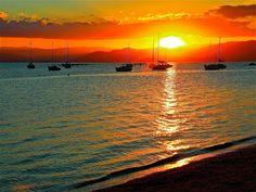 paisagens de sol poente - Pesquisa Google