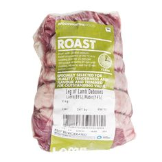 Deboned Leg of Lamb Avg - Woolworths Woolworths Food, Healthy Biscuits, Roasting Pan, Poultry, Lamb, Snack Recipes, Chips, Cooking, Sky