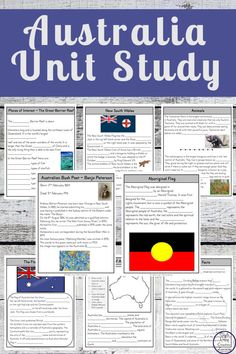 This Australia Unit Study is great for kids who want to learn about the history of Australia. It also includes information on each State and Territory. Geography Activities, Geography For Kids, Learning Activities, Activities For Kids, Learning Quotes, Classroom Activities, Australia For Kids, Australia Crafts, Kindergarten Units