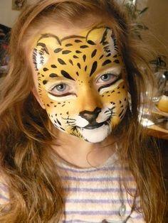face painting jaguar - Google Search: