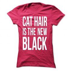Cat Hair T Shirts, Hoodies. Get it here ==► https://www.sunfrog.com/Pets/Cat-Hair-6287-HotPink-58148751-Ladies.html?57074 $20
