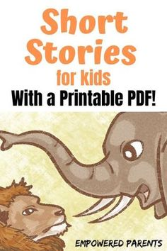 These short, funny stories for kids are all about animals. Read them from this page or print a PDF copy to keep for later. Free Stories For Kids, English Stories For Kids, Moral Stories For Kids, English Story, Reading Stories, Kids Story Books, Kids English, Cute Bedtime Stories, Ap English