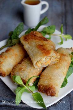 Recettes des Nems au poulet - ...recette du monde... Thai Recipes, Asian Recipes, Cooking Recipes, Algerian Recipes, Ramadan Recipes, Cheat Meal, Entrees, Food Porn, Brunch