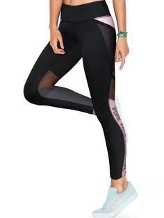Ultimate Fleece Lined Mesh Pocket Legging