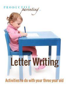 ProductiveParenting.com : Letter Writing