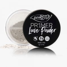 Prebase en polvo para ojos y labios PuroBio. Ayuda a alargar la duración del maquillaje de ojos y labios. También adecuada para utilizar como base. No contiene níquel. #CosmeticaNatural #Maquillaje #MaquillajeEco #PuroBio #Bio #eco #ecológico