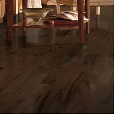 "Armstrong Global Exotics 4-18/25"" Engineered Exotic Hardwood Flooring in Tigerwood Brazilian Taupe"