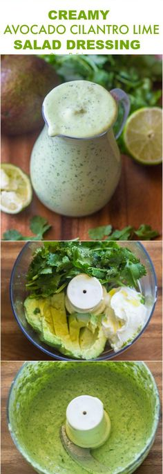Healthy Creamy Avocado Cilantro Lime Dressing Healthy Recipes - food, healthy, recipes