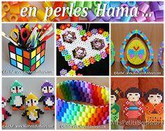 Des modèles en perles à repasser par dizaine / mespetitsbonheurs.com  Hama Beads Pattern
