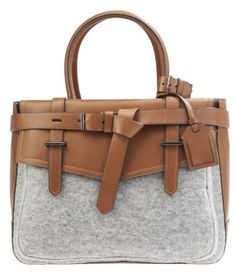Reed Krakoff Tobacco Flanell Bag