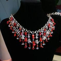 #necklace #collana #ogrlica #catene #unikat #fattoamano #jewelry #handmadejewelry #handmade #rocnodelo #korale #kamnine #kristali #gemstones #pietre #acessories #artigianato #artiginale #beadswork #beads #perle #perlerbeads #coral #corales #corals #Slovenia #Slovenija