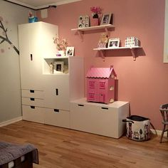 Girlsroom stuva IKEA