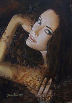 "✯ I hate lie...""Resentments"" Series :: Artist Dorina Costras ✯"