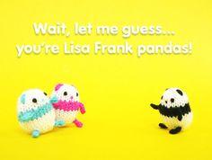 Tiny mochi pandas get ready for Halloween!