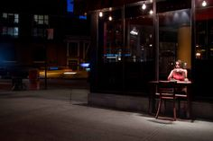 """""""Table For Two"""": interactive intervention in NYC by Shani Ha"""