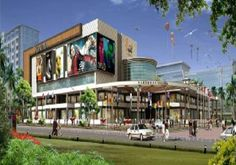 Galaxy Diamond Plaza the commercial sector at Noida Extension introduces with retail shops. These shops were highly automated with food and entertainment shops with large spaces.