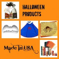 Halloween Products Made in USA @made in usa challenge