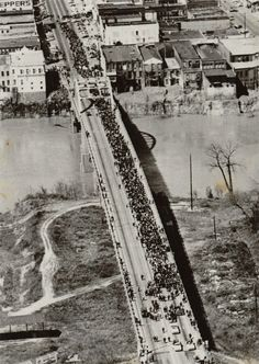 Civil Rights Movement- I walk across this bridge!