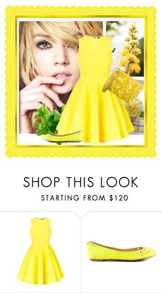 """""""Yellow"""" by irnarenko ❤ liked on Polyvore featuring AQ/AQ, Sam Edelman and Rafe"""