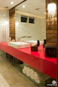 Banheiro Social por Morgana Fabris e Ediane T. Resende no Morar Mais Curitiba