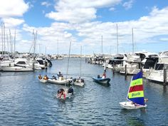 Kids Sailing Perth - Tiny Tackers at Hillarys Yacht Club