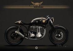 A 1958 Matchless Cafe Racer and it's an Ayrton Senna Tribute…… I'm in love…. Cafe Racer Motorcycle, Moto Bike, Motorcycle Design, Bike Design, British Motorcycles, Cool Motorcycles, Garage Bike, Scrambler Custom, Vintage Cafe Racer