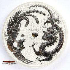 2017 Australian Dragon and Phoenix 1 ounce Silver Bullion Coin (2)