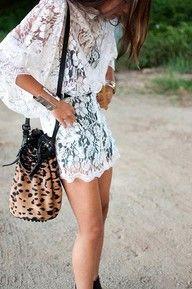I. Love. Lace.