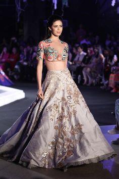 Indian bridal lehenga by Manish Malhotra Indian Bridal Lehenga, Indian Bridal Wear, Indian Wedding Outfits, Indian Outfits, Bridal Outfits, Indian Weddings, Indian Wear, Indian Fashion Online, India Fashion