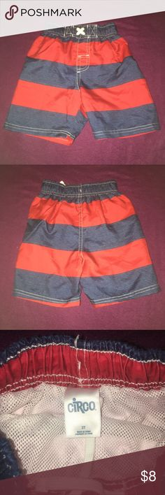 Little boy Swim Shorts NWOT, ✨Bundle w/ 2 other children's items for $8✨ Circo Swim Swim Trunks