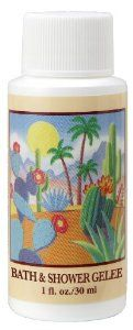 Arizona Sun Bath and Shower Gelee - 1 oz - Natural Aloe Vera and Other Plants and Cacti from the Desert Provide Moisturizing Bath Gel - Alternative to Bath Soap by Arizona Sun. $2.10. Great for shaving legs. Perfect for the shower or bath - Use with a bath puff. Bath and Shower Gelee - Great alternative to soap. Soothes, nurishes, softens and moisturizes skin. Beautiful desert floral fragrance. Begin your day with this Gelee. It softens your skin while gently cl...