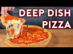 Deep Dish Pizza inspired by The Daily Show