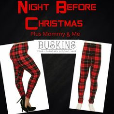 NEW MOMMY & ME LEGGINGS BY BUSKINS LEGGINGS. COMES IN ADULT ONE SIZE FITS 4-14 AND PLUSKINS ONE SIZE FITS 16-26. ALONG WITH GIRLS WITH SIZES S/M, L/XL AND JUNIORS 1-2. $22-$28. SUPER CUTE FOR THE HOLIDAYS...COME SHOP MY SITE FOR ALL YOUR FALL/WINTER FASHION. BOOT CUFFS & LEG WARMERS TOO! www.mybuskins.com/#leggingsbellht (referrer: heather townsend) at checkout please :) #buskins #leggings #mommy&me #style #fashion #fallfashion #leggingslovers #girlsleggings #holiday #shopping