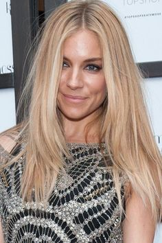 Sienna Miller long hair