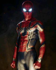 Spider Man in Avengers: Infinity War Artista: Alexander Lebedev Amazing Spiderman, All Spiderman, Spiderman Costume, Marvel Comics, Marvel Heroes, Ms Marvel, Captain Marvel, Spiderman Infinity, Die Rächer