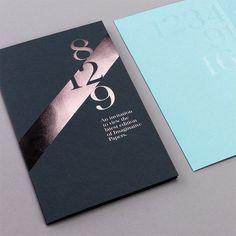 Showcase of Creative Print Designs with Hot Foil Stamping Fedrigoni 22 Papers von designlsc The post Schaufenster kreativer Druckdesigns mit Heißfolienprägung & DESIGN