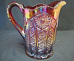 Indiana Heirloom Red Sunset Pitcher