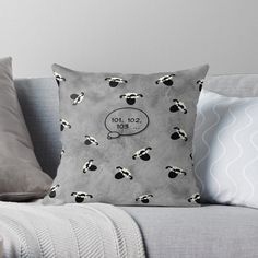 -  Vibrant double-sided print throw pillows to update any room.   -  Independent designs, custom printed when you order.   -  Soft and durable 100% spun polyester cover with an optional polyester fill/insert.   -  Concealed zip opening for a clean look and easy care.   . . . #pillows  #cushions  #bitsofeverywhere  #countingsheep  #insomnia