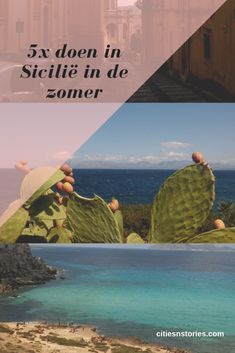 doen in Sicilië in de zomer. - Cities 'n Stories Travel Destinations, Travel Tips, Sicily Travel, Cities In Europe, Summer Travel, Travel Inspiration, Traveling By Yourself, City, Dutch