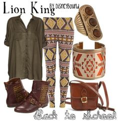 Lion King By DisneyBound outfit
